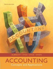 Accounting 10th edition 9780324376159 0324376154