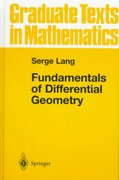 Fundamentals of Differential Geometry 4th edition 9780387985930 038798593X