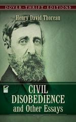 Civil Disobedience and Other Essays 1st Edition 9780486275635 0486275639