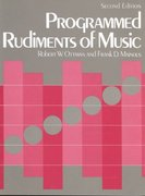 Programmed Rudiments of Music 2nd edition 9780131380424 0131380427