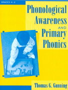 Phonological Awareness and Primary Phonics 1st edition 9780205323234 0205323235