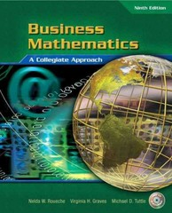 Business Mathematics 9th edition 9780131140141 0131140140