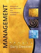 Management 3rd edition 9780131044425 0131044427