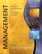 Management 3rd edition 9780131009929 0131009923