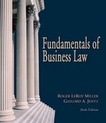 Fundamentals of Business Law (with Online Research Guide) 6th edition 9780324270945 0324270941