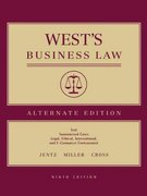 West's Business Law, Alternate 9th edition 9780324269970 0324269978