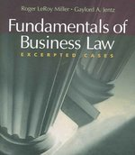 Fundamentals of Business Law 1st edition 9780324406023 0324406029