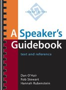 A Speaker's Guidebook 2nd edition 9780312404338 0312404336