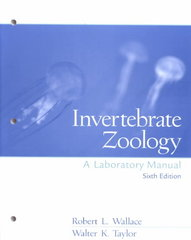 Invertebrate Zoology Lab Manual 6th edition 9780130429377 0130429376
