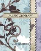 Fabric Glossary 4th edition 9780135005972 0135005973