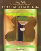 Study Guide for Stewart/Redlin/Watson's College Algebra, 4th 4th edition 9780534406004 0534406009
