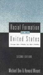Racial Formation in the United States 2nd edition 9780415908641 0415908647