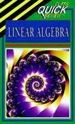 CliffsQuickReview Linear Algebra 1st edition 9780822053316 0822053314