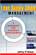 Lean Supply Chain Management 1st edition 9781563272899 156327289X