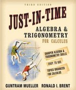 Just-In-Time Algebra and Trigonometry for Students of Calculus 3rd edition 9780321269430 0321269438
