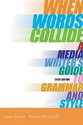 When Words Collide 6th Edition 9780534562069 053456206X