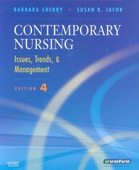 Contemporary Nursing 4th edition 9780323052177 0323052177