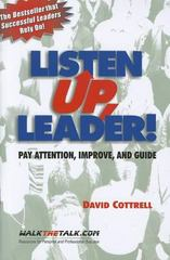Listen Up, Leader! 2nd edition 9781885228376 1885228376