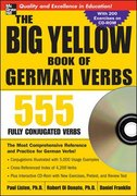 The Big Yellow Book of German Verbs (Book w/CD-ROM) 1st edition 9780071487580 0071487581