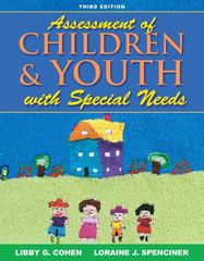 Assessment of Children and Youth with Special Needs 3rd Edition 9780205493531 020549353X