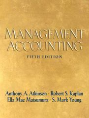 Management Accounting 5th edition 9780136005315 0136005314