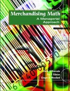 Merchandising Math: A Managerial Approach 1st Edition 9780130995889 0130995886