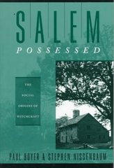 Salem Possessed 1st Edition 9780674785267 0674785266