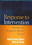 Response to Intervention 1st edition 9781593852153 1593852150