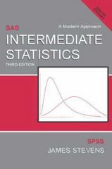 Intermediate Statistics 3rd Edition 9780805854664 0805854665