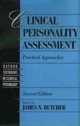 Clinical Personality Assessment 2nd Edition 9780195142587 0195142586