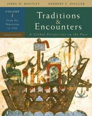 Traditions & Encounters 4th edition 9780073330624 0073330620