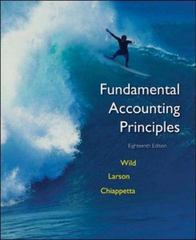 Fundamental Accounting Principles 18th edition 9780072996531 0072996536