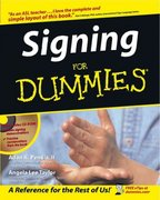 Signing For Dummies 1st edition 9780764554360 0764554360