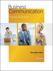 Business Communication 6th edition 9780324542905 0324542909