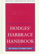Hodges' Harbrace Handbook 13th Edition 9780155072831 0155072838