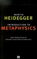 Introduction to Metaphysics 0 9780300083286 0300083289