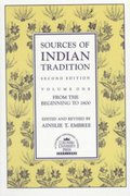 Sources of Indian Tradition 2nd edition 9780231066518 0231066511