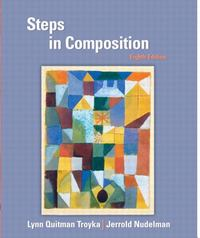 Steps in Composition 8th edition 9780131100695 0131100696