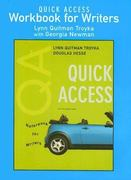 Quick Access Workbook for Writers 5th edition 9780131952270 0131952277