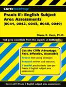 CliffsTestPrep Praxis II 1st edition 9780471785064 0471785067