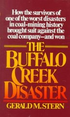 The Buffalo Creek Disaster 1st Edition 9780394723433 0394723430