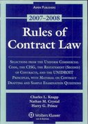 Rules of Contract Law 0 9780735564145 0735564140