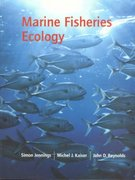 Marine Fisheries Ecology 1st edition 9780632050987 0632050985