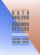 Data Analysis for Research Designs 1st edition 9780716719915 0716719916