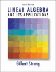 Linear Algebra and Its Applications 4th edition 9780030105678 0030105676