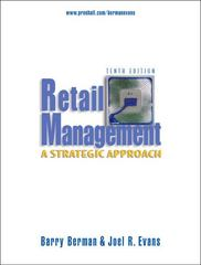 Retail Management 10th Edition 9780131870161 0131870165