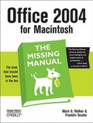 Office 2004 for Macintosh 1st edition 9780596008208 0596008201