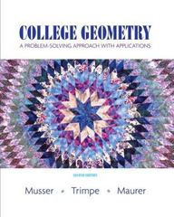 College Geometry 2nd edition 9780131879690 0131879693