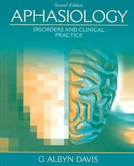Aphasiology 2nd Edition 9780205480999 0205480993