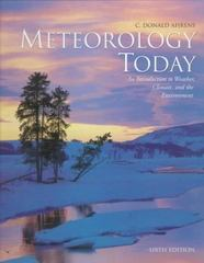 Meteorology Today w/Infotrac and Blue Skies Cd 6th edition 9780534372019 0534372015